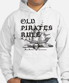 Old Pirates Rule Jumper Hoody