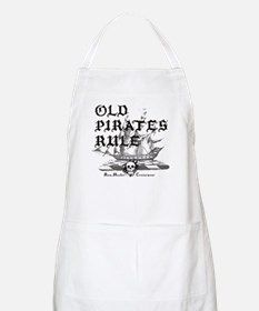 Old Pirates Rule BBQ Apron
