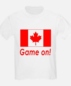 Canada Pride Game On! Kids T-Shirt