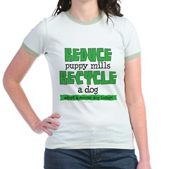 Recycle a dog T