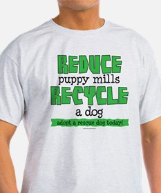 Recycle a dog T-Shirt
