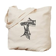 Cute Scroll saw Tote Bag