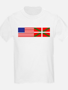 2 Flags Kids T-Shirt