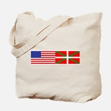 2 Flags Tote Bag