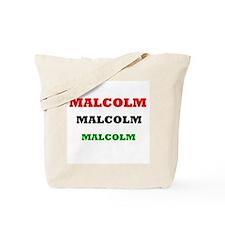 Malcolm Tote Bag