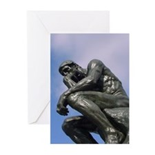 The Thinker - Greeting Cards (Pk of 20)