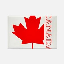 Candian Maple Leaf Rectangle Magnet (100 pack)