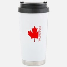 Candian Maple Leaf Travel Mug