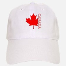 Candian Maple Leaf Baseball Baseball Cap
