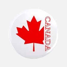 "Candian Maple Leaf 3.5"" Button"