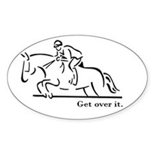 Jumper Oval Decal