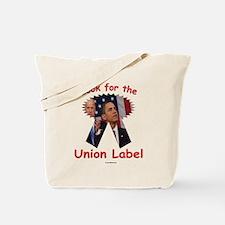 Union Label Tote Bag