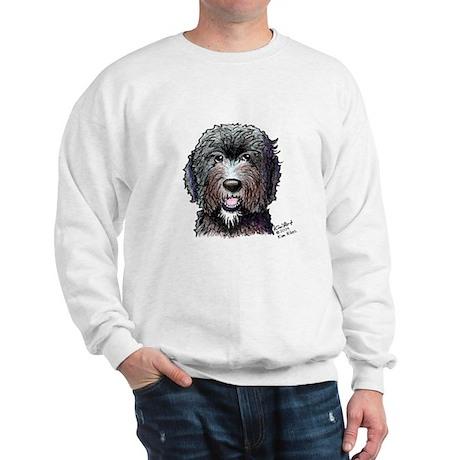 WB Black Doodle Sweatshirt
