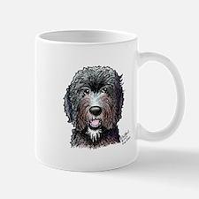 WB Black Doodle Mug