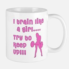 I train like a girl... try to Mug