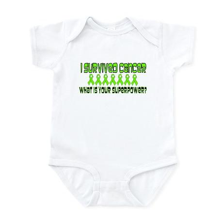 Lime Superpower Infant Bodysuit