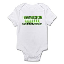 Lime Superpower Infant Bodysuit