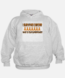 Orange Superpower Hoodie