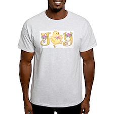 Joy: Chick Ash Grey T-Shirt