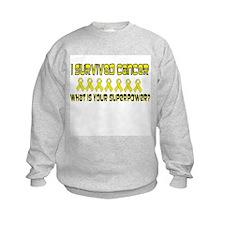 Yellow Superpower Sweatshirt