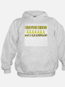 Yellow Superpower Hoodie