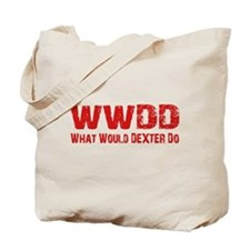 Dexter Showtime What Would Dexter Do Tote Bag