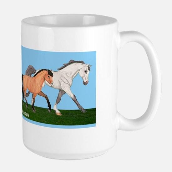 Pony Fun Large Mug