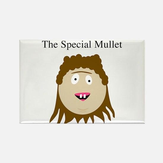 Cool Mullet Rectangle Magnet