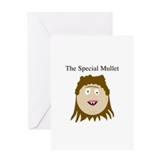Unique Mullet Greeting Card