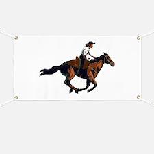 Gallop Girl Banner