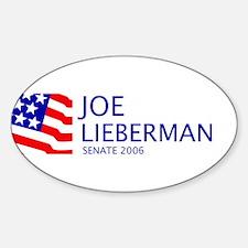 Lieberman 06 Oval Decal