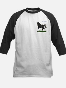 Welsh Cob Pony Kids Baseball Jersey
