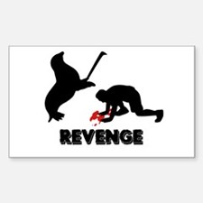 Revenge of the seals Rectangle Decal