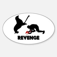 Revenge of the seals Oval Decal