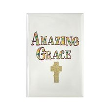 TGY Amazing Grace Rectangle Magnet (10 pack)
