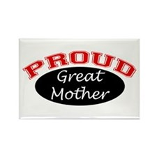 Proud Great Mother Rectangle Magnet