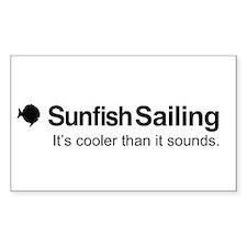 Sunfish Sailing Decal