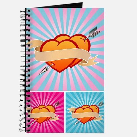 Tattoo Hearts Journal