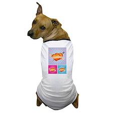Tattoo Hearts Dog T-Shirt
