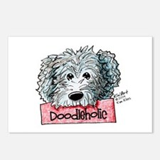 Doodleholic Gray Dood Postcards (Package of 8)