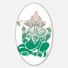 Ganesha Oval Stickers