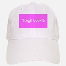 Tough Cookie Baseball Baseball Cap / Hat (pink)
