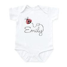 Ladybug Emily Onesie