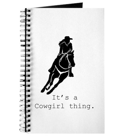 Its a Cowgirl Thing Journal