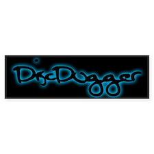 Discdogger Bumper Bumper Sticker