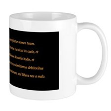 """Pater Noster (""""Our Father"""") Coffee Coffee Mug"""