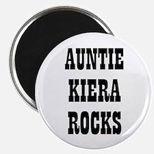 "AUNTIE KIERA ROCKS 2.25"" Magnet (10 pack)"