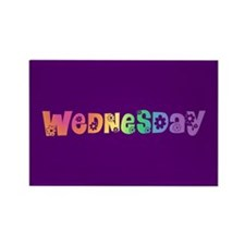 Cute Wednesday Rectangle Magnet