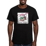 Rocket Surgeon Men's Fitted T-Shirt (dark)