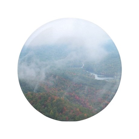 """After the Rain Fern Lake 3.5"""" Button (100 pack)"""